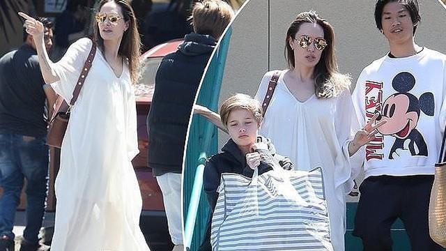 Pax Thien 15 tuổi chững chạc bảnh bao và cao gần bằng mẹ Jolie