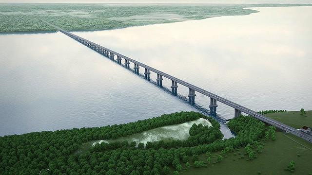 Nga xây cầu 1,8 tỷ USD nối thẳng châu Âu và Trung Quốc