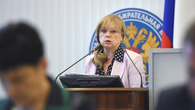 Người đứng đầu Ủy ban bầu cử trung ương Nga bị tấn công