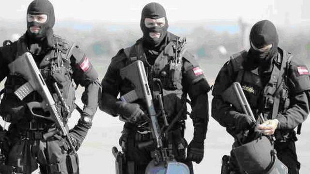Hình ảnh ấn tượng về đơn vị đặc nhiệm chống khủng bố EKO Cobra (Áo)