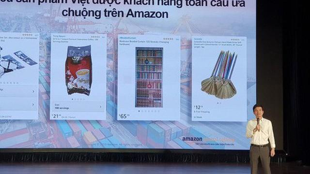 CEO Amazon Global Selling Việt Nam: Chổi đót còn bán được 13 USD, Doanh nghiệp Việt Nam chỉ cần tập trung phát triển sản phẩm, toàn bộ quy trình xử lý đơn hàng Amazon lo