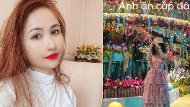 """Mina Phạm - vợ 2 đại gia Minh Nhựa đăng story xoáy thẳng vào """"phốt"""" photoshop ảnh, hỏi ngược: """"Ảnh ăn cắp đây ư?"""""""