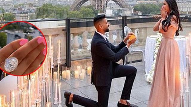 Travel blogger nổi tiếng khoe nhẫn đính hôn kim cương to bự, tưởng được hâm mộ ai ngờ lại bị ném đá không thương tiếc