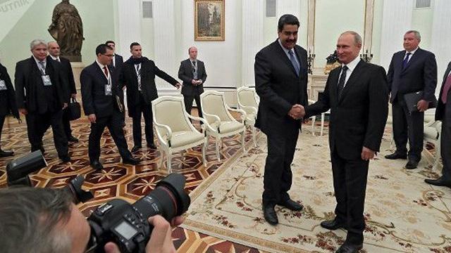 Món quà Tổng thống Venezuela dành tặng người đồng cấp Putin