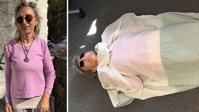 Bị 'dị ứng Wifi', người phụ nữ quyết tâm ngủ trong túi ngủ dệt bằng bạc và tránh lại gần những đô thị lớn