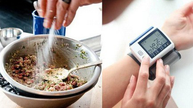 Mối liên quan giữa ăn thừa muối và bệnh tăng huyết áp