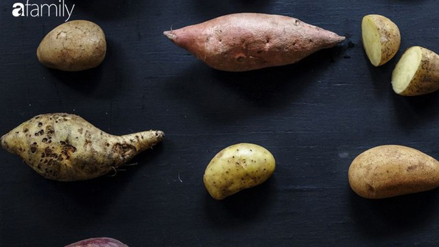 So sánh khoai lang và khoai tây: Loại nào tốt cho sức khỏe hơn?