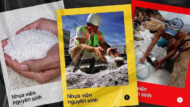 Nhựa viên nguyên sinh: Thảm họa môi trường mới khi những gã khổng lồ dầu khí chuyển sang sản xuất nhựa