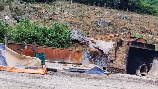 Cận cảnh lò đốt rác điện tử lấy vàng vùng giáp ranh Hà Nội - Hòa Bình