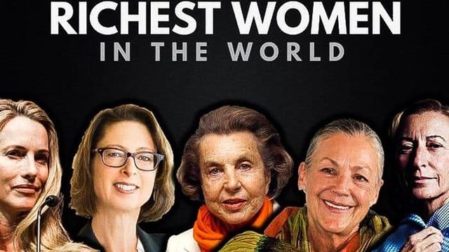 Top 10 nữ tỉ phú giàu nhất nước Mỹ nhiều tiền đến mức nào?
