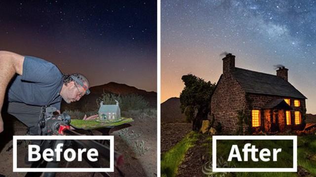 Ngắm những 'ánh trăng lừa dối' tuyệt đẹp từ nghệ thuật chụp ảnh thiên văn bằng tiểu cảnh