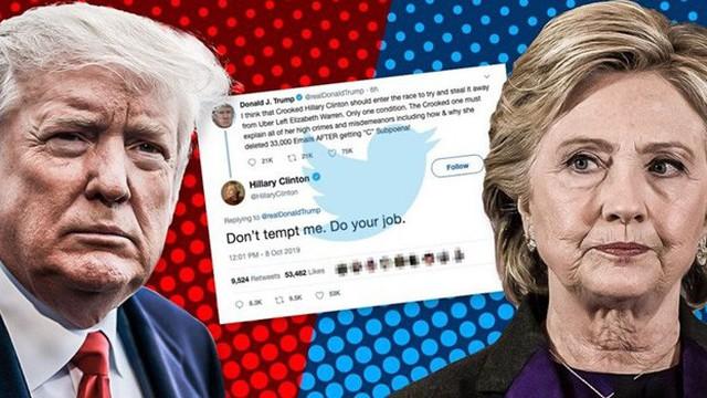 """Bà Hillary Clinton đáp trả """"thách đấu"""" tranh cử của ông Donald Trump"""
