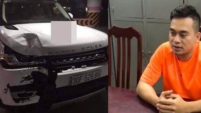 Tài xế Range Rover tông chết 2 người trên phố Hà Nội lĩnh án 18 tháng tù