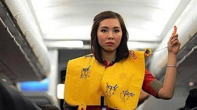 Phạt 8,5 triệu đồng nữ hành khách trộm áo phao trên máy bay