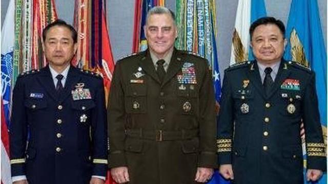 """Tướng quân đội Mỹ-Hàn-Nhật họp kín, truyền thông Triều Tiên lên tiếng """"cực gắt"""""""