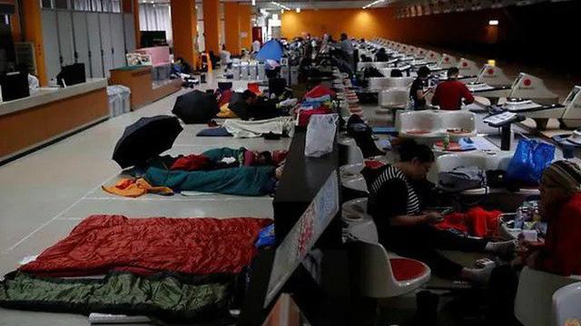 Trung tâm sơ tán Nhật hứng bão chỉ trích vì từ chối người vô gia cư