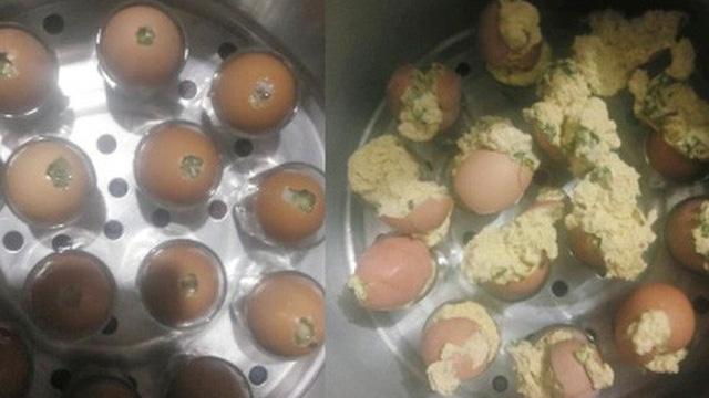 Cô gái học theo trên mạng làm món trứng hấp và cái kết be bét khiến nhiều người chỉ muốn 'buông bát đũa'