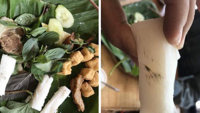 Đi ăn quán bún đậu nức tiếng ở Bình Thạnh, cô gái tá hỏa khi phát hiện bún mốc, nhưng phản hồi sau đó của cư dân mạng mới khiến nhiều người kinh hãi