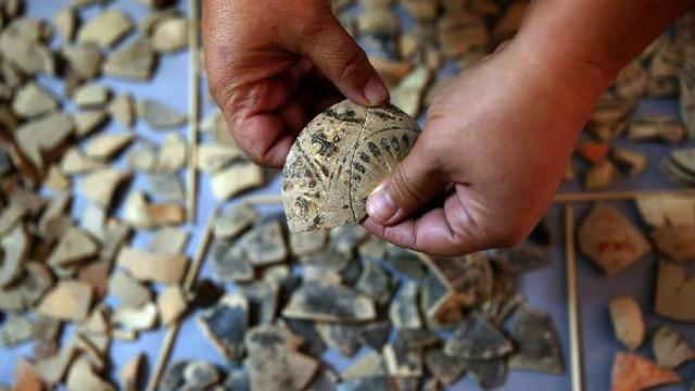 Hy Lạp: Phát hiện kho báu bí ẩn có niên đại 1.600 năm