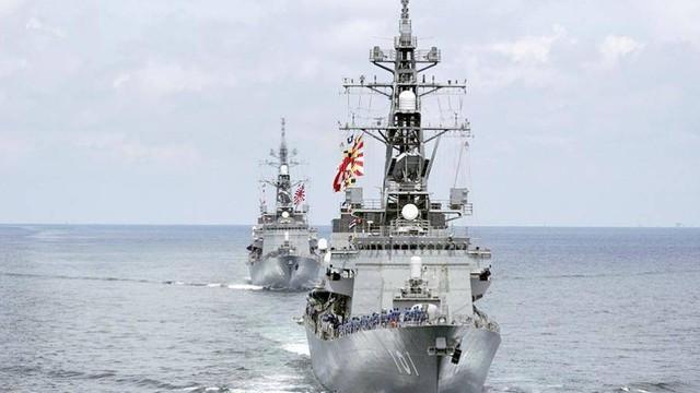 Điều tàu chiến tới Trung Đông, lộ tham vọng quân sự của Thủ tướng Abe?