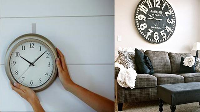"""Treo đồng hồ trong nhà nhớ những điều này để Thần Tài không """"rủ nhau"""" đi mất"""