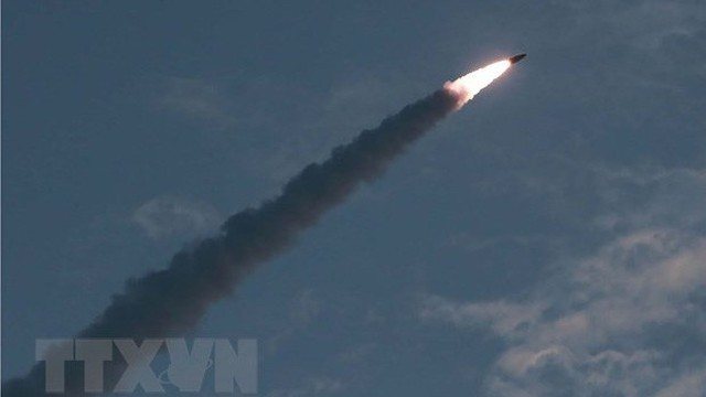 Mỹ thảo luận với các đồng minh về vụ thử rocket đa nòng của Triều Tiên