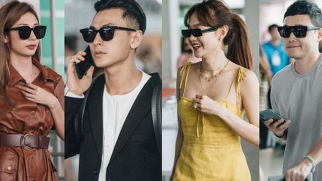 """Dàn sao Vbiz đổ bộ sân bay rời Phú Quốc: Người thấm mệt, người vẫn tươi rói sau đêm """"quẩy nhiệt"""" tại đám cưới Đông Nhi"""
