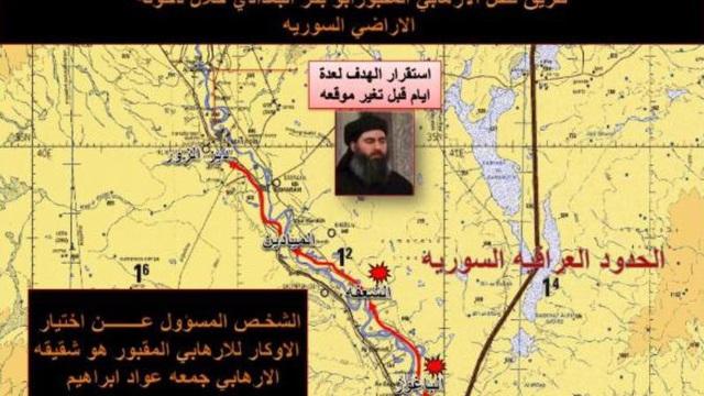 Tình báo Iraq tiết lộ chiến thuật lật tẩy dấu vết al-Baghdadi