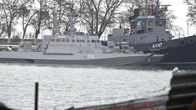 Ukraine nói không bỏ qua dù Nga đã trả 3 tàu hải quân
