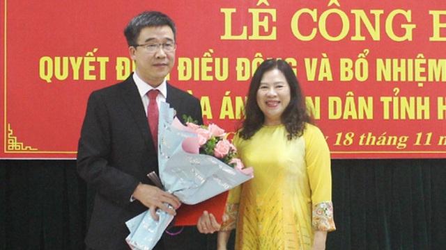 Tòa án nhân dân tối cao bổ nhiệm nhân sự mới