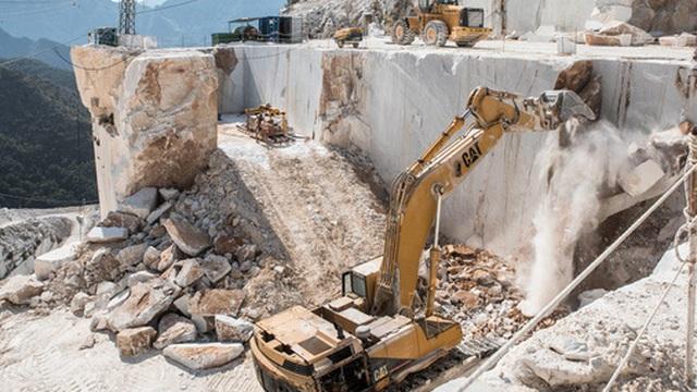 Mỏ sản xuất nhiều đá cẩm thạch nhất thế giới, giá trị 1,1 tỷ USD