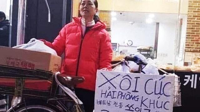 Món ăn đường phố ''Xôi lạc - bánh khúc đây'' bất ngờ xuất hiện ở Hàn Quốc với giá cao hơn ở Việt Nam gấp 3-4 lần