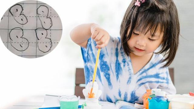Để con gái tự làm bài tập về nhà, mẹ quay lại kiểm tra thì dở khóc dở cười: Gà con hay đậu phộng?