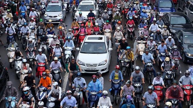Hà Nội tiếp tục hoàn thiện đề án cấm xe máy nội đô năm 2030