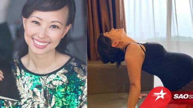 Shark Linh đăng hình tập yoga nhưng dân tình lại chỉ chăm chú vào hình xăm đặc biệt này