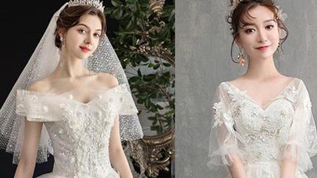 Chọn váy cưới đẹp nhất, bạn sẽ biết được sau hôn nhân mình hạnh phúc về tinh thần hay viên mãn luôn cả vật chất