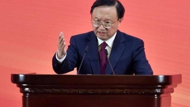 Dương Khiết Trì kịch liệt phản đối Mỹ can thiệp Hồng Kông, Tân Cương
