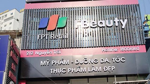Sau chuỗi nhà thuốc, FPT Retail bất ngờ mở F.Beauty chuyên kinh doanh mỹ phẩm nhập ngoại cao cấp
