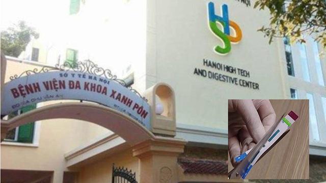 Vụ cắt đôi que thử HIV ở BV Xanh Pôn: Phó khoa là người chỉ đạo