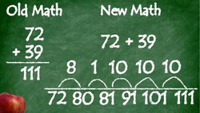 """""""Toán học mới"""" thế kỷ 21 ở Mỹ: Tiểu học phải biết cộng đúng cách 8 + 5 = (8+2) + 3 mới là hiểu bài?"""