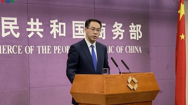 Trung Quốc chưa xác nhận thời điểm ký Thỏa thuận thương mại với Mỹ