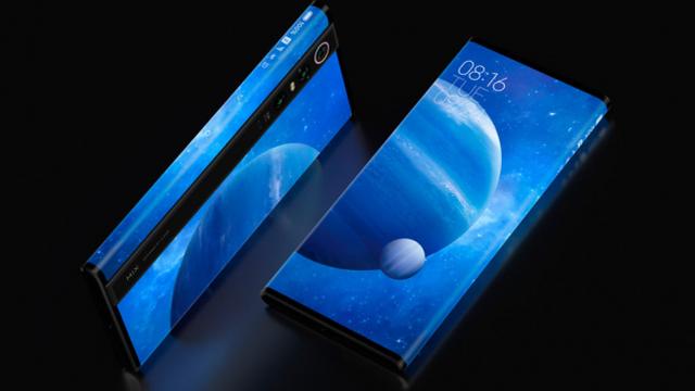 Xiaomi Mi Mix Alpha, smartphone mang thiết kế siêu tưởng, hoãn ra mắt