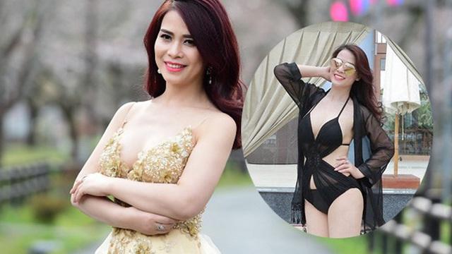 Nhan sắc bạn gái kém 17 tuổi của Chí Trung thời đi thi hoa hậu