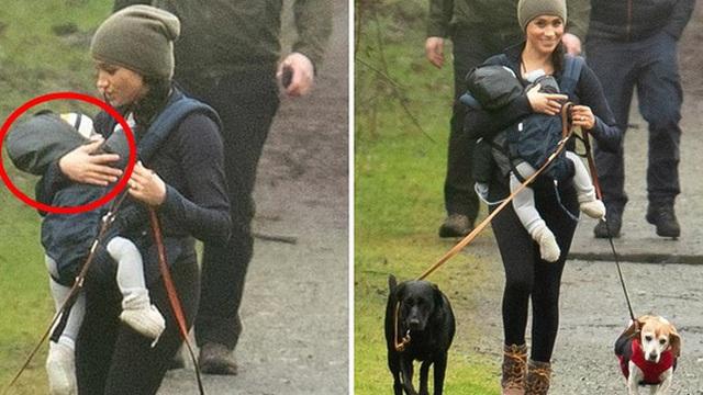 Meghan Markle lần đầu cho con trai lộ diện ở Canada khi dắt chó đi dạo, nhìn cách đứa trẻ được mẹ chăm sóc khiến ai cũng lo lắng