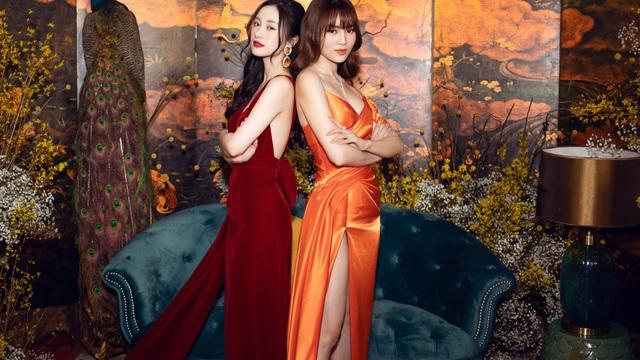Ninh Dương Lan Ngọc đọ vẻ gợi cảm cùng Jun Vũ