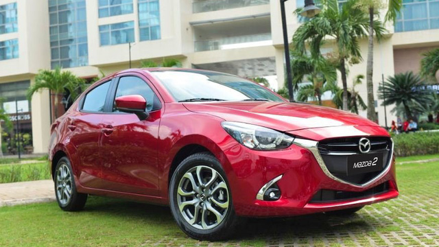 Mazda2 giảm giá, xuống ngưỡng dưới 480 triệu đồng