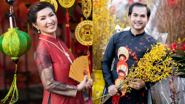 Nguyễn Hồng Nhung, Đức Tiến mặc áo dài đi chợ hoa, lễ chùa