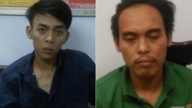 Chân dung hai nghi phạm đâm Đại úy Cảnh sát ở Cần Thơ tử vong vào chiều 30 Tết