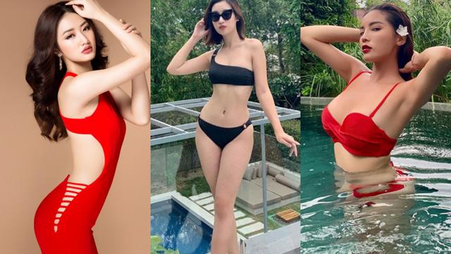Đọ vẻ nóng bỏng của 3 hoa hậu Việt tuổi Tý