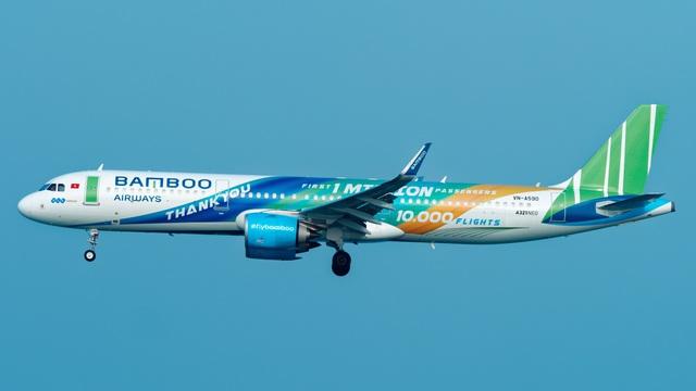 Bamboo Airways tạm ngừng 2 chặng bay đến Hàn Quốc do dịch Covid-19